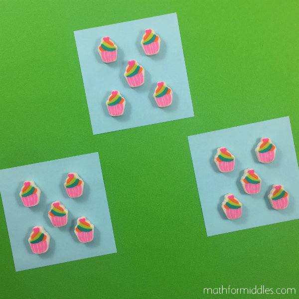Erasers math facts