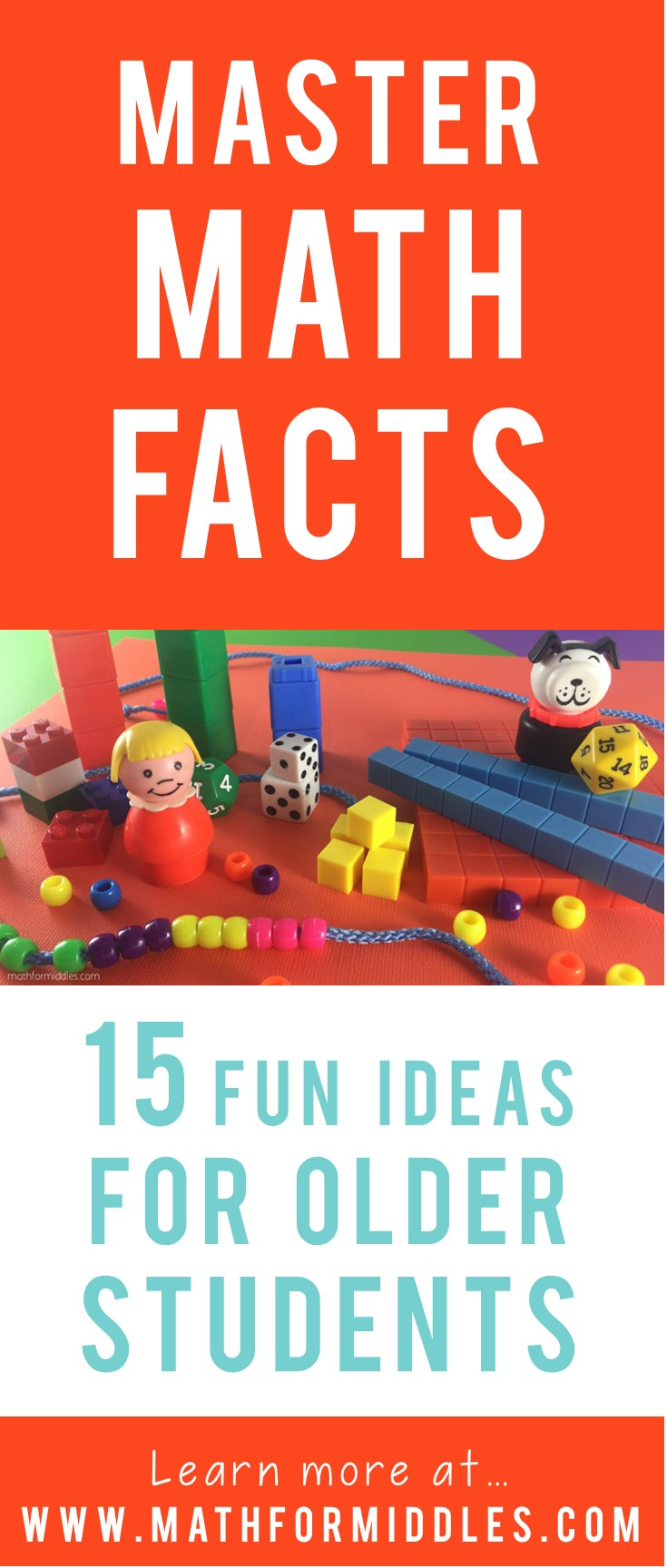 15 Fun Ways to Master Math Facts in the Middle School Years