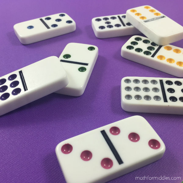 dominoes math facts