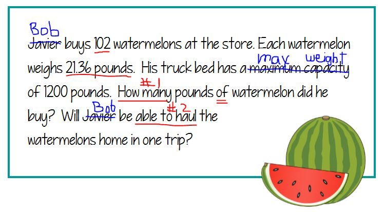 Practice math test skills. mathformiddles.com/math-test-tips