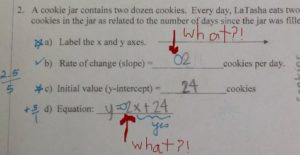 Get feedback from your teachers? Don't understand a mark they made, ask for clarification. http://mathformiddles.com/study-skills