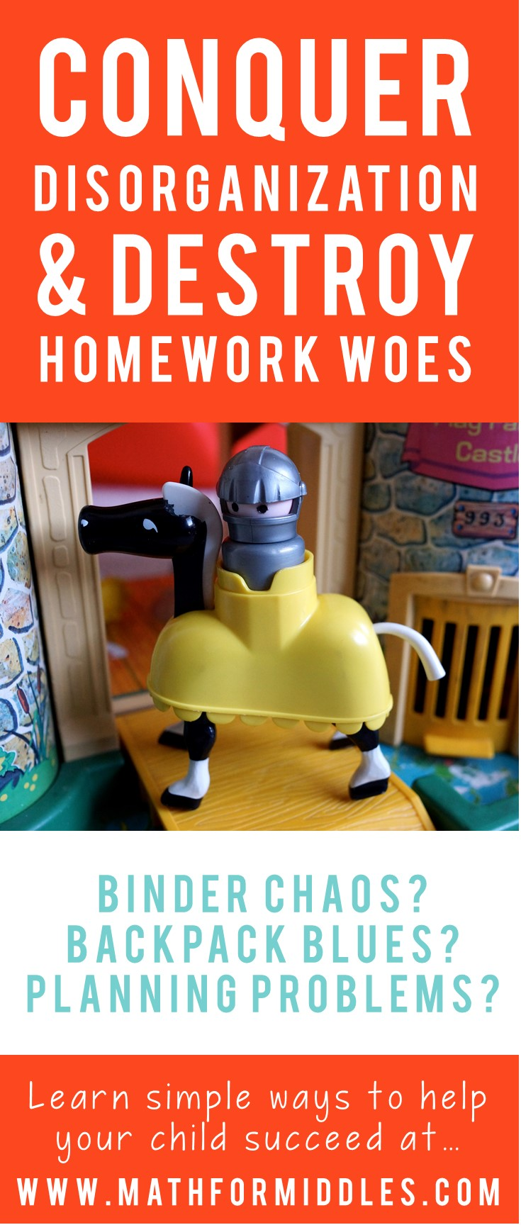 Conquer Disorganization and Homework Angst This Year [009]