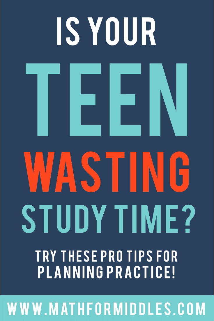 Teaching Teens Study Skills and Planning