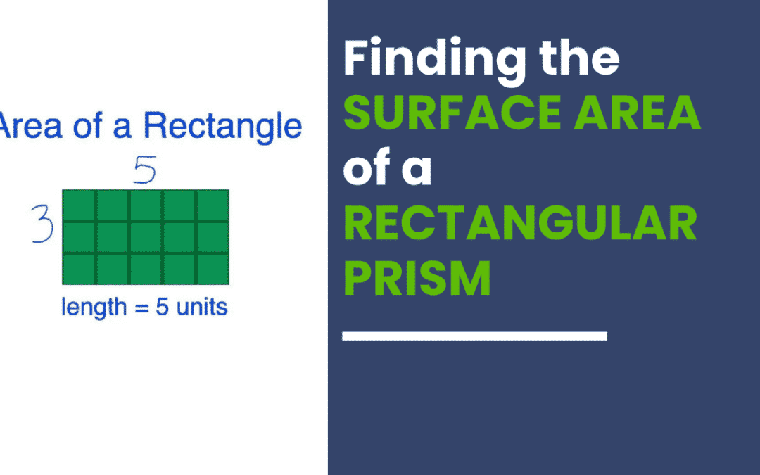 Finding the Surface Area of Rectangular Prisms