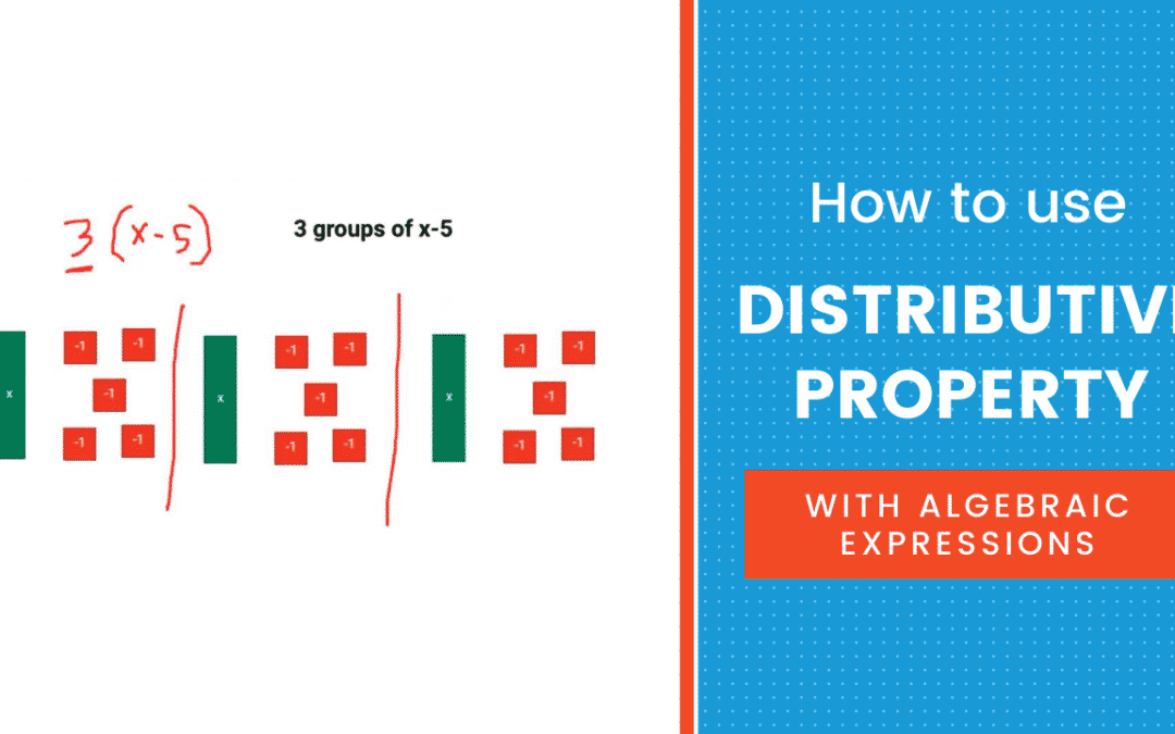 How to use Distributive Property with Algebraic Expressions
