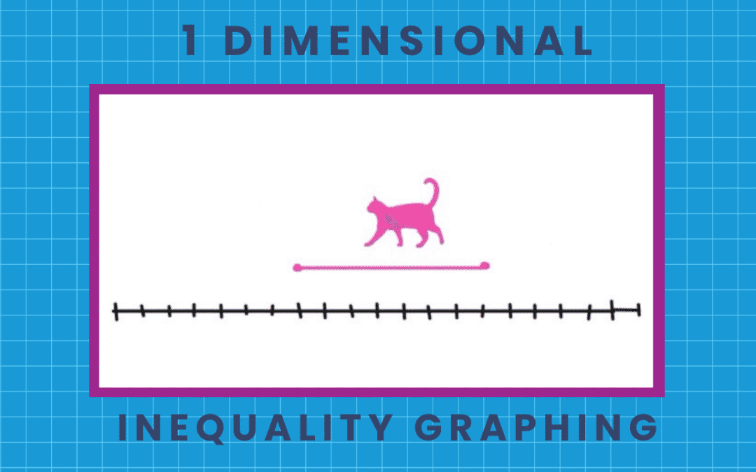 How to Graph One Dimensional Inequalities: 3 easy STORIES