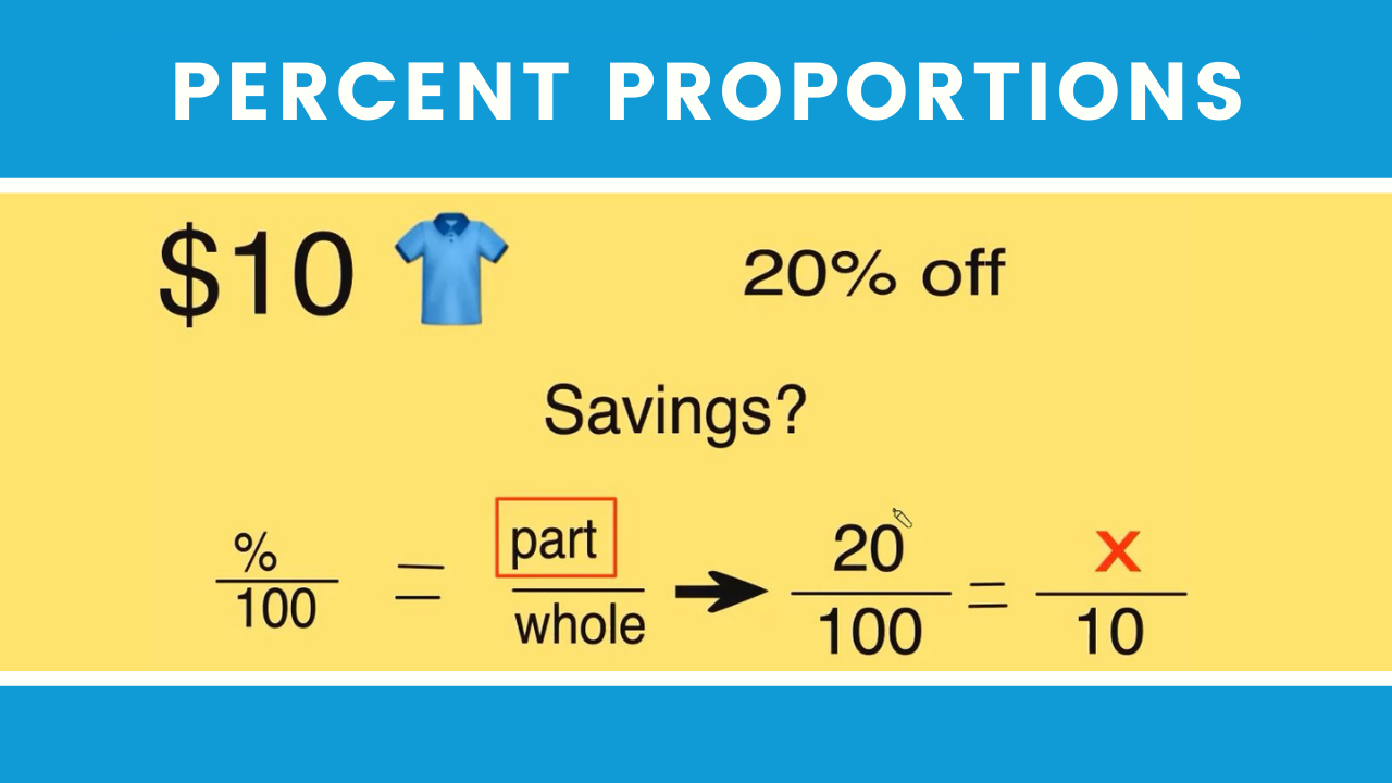 How to solve percent proportions in 12 minutes