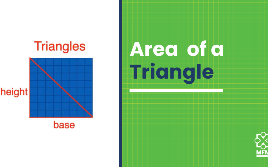 How to find the area of a triangle: In 2 EASY STEPS (+Freebie)