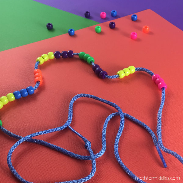Beads and strings Math facts