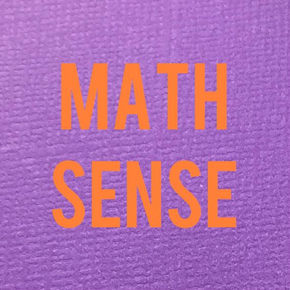 Math Sense Math Facts