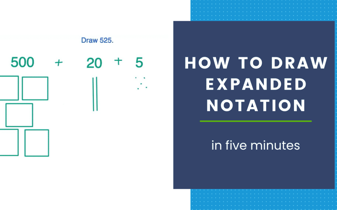 How to DRAW expanded notation in five minutes! (+ FREEBIE)