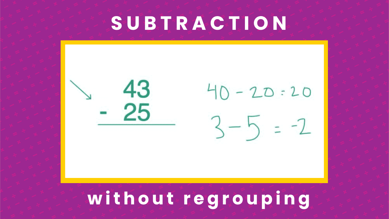 Subtraction Secrets: How to subtract without regrouping