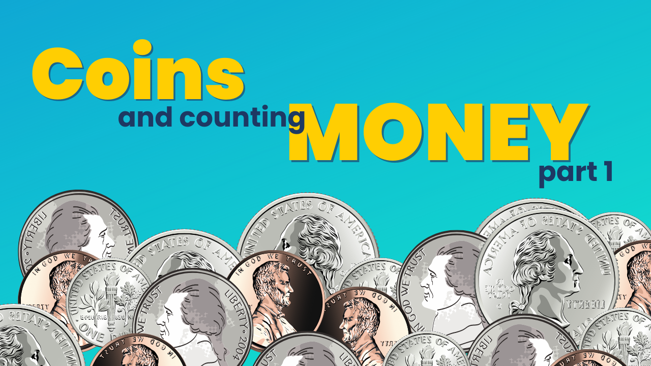 Coins & Kids: 6-Minutes lesson +  3 FREE activities!