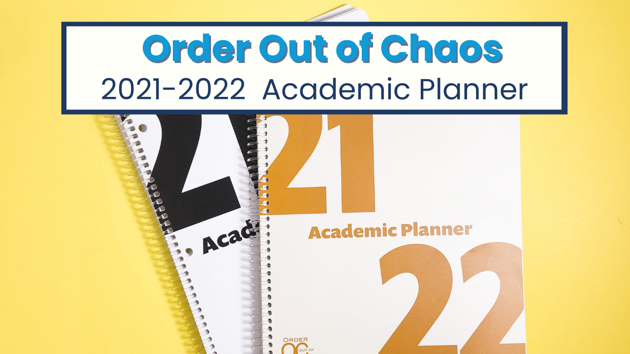 The BEST EVER school planner for students with dyslexia, dyscalculia, and ADHD