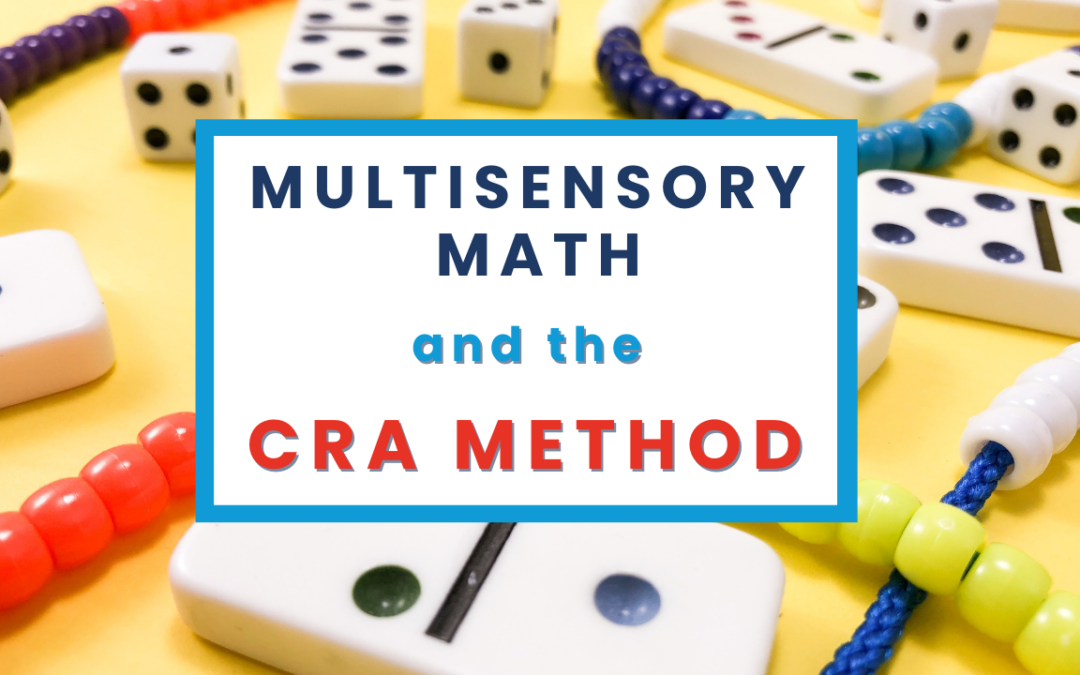 The POWER of multisensory math intervention in only 3 minutes!