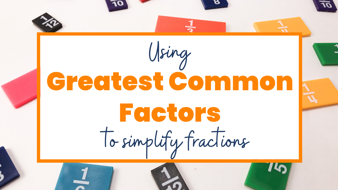 Mathematical Mimicry: How to simplify fractions with a copycat one