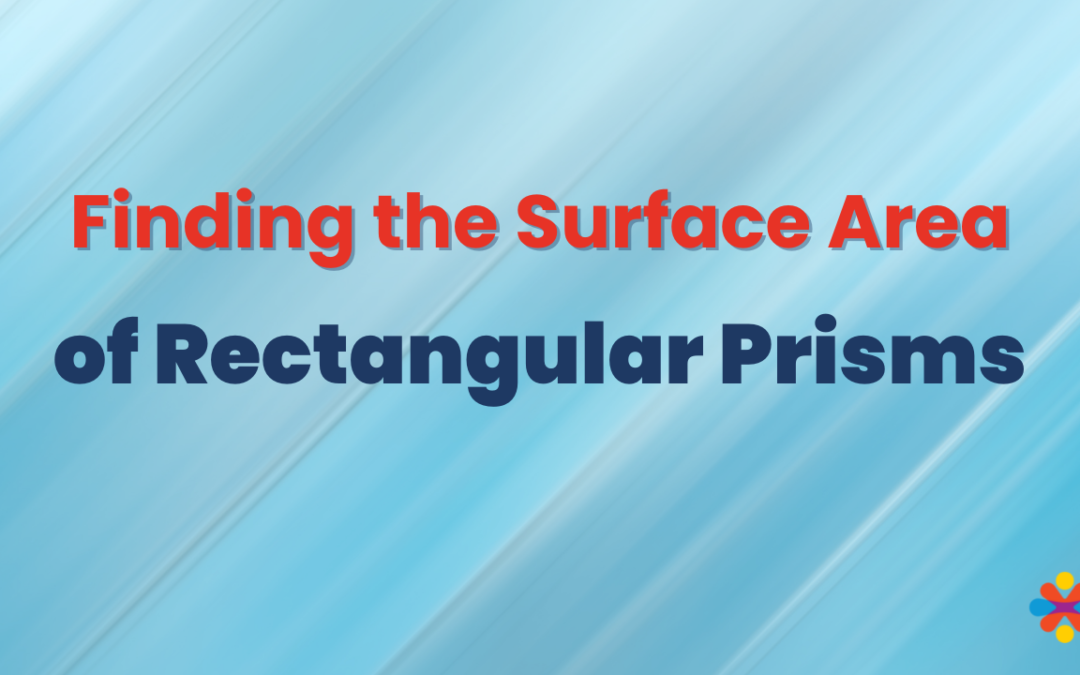 How to find the surface area of a rectangular prism plus NCTM
