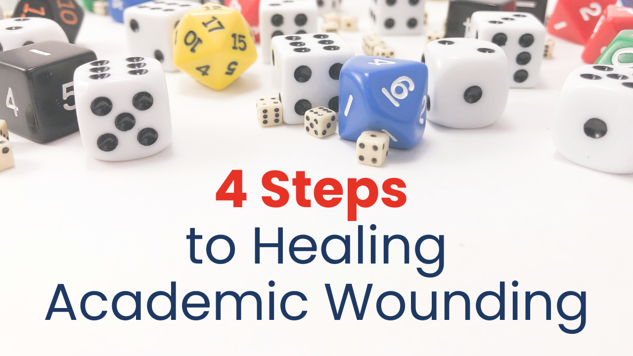 Four Steps to healing academic wounding that every parent should know