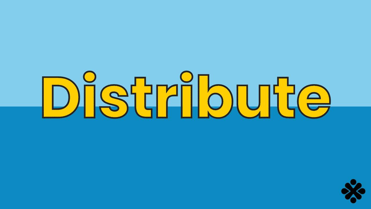 Math Vocabulary: Distribute